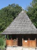 Rustieke houten kerk Stock Foto's