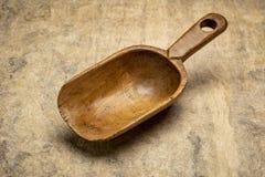 Rustieke houten lepel stock afbeeldingen