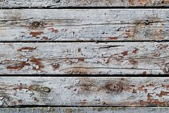 Rustieke houten textuur met de gebarsten oppervlakte van verf natuurlijke patronen als achtergrond royalty-vrije stock fotografie
