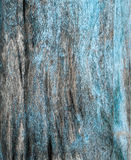 Rustieke houtvezelplaattextuur met blauwe gepelde verf Royalty-vrije Stock Afbeeldingen