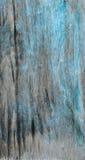 Rustieke houtvezelplaattextuur met blauwe gepelde verf Royalty-vrije Stock Afbeelding