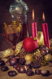 Rustieke Kerstmis Royalty-vrije Stock Fotografie