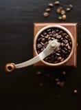 Rustieke koffiemolen Stock Fotografie
