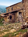 Rustieke mediterrane dorpsherberg Stock Fotografie
