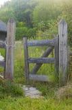 Rustieke Omheining Gate Royalty-vrije Stock Afbeeldingen