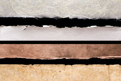 Rustieke randendocument texturen Stock Foto
