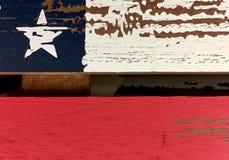 Rustieke ster en strepen Royalty-vrije Stock Afbeelding