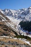 Rustieke toevlucht in de bergen stock fotografie