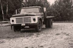 Rustieke vrachtwagen stock foto