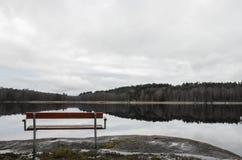 Rustig Landschap Stock Afbeelding