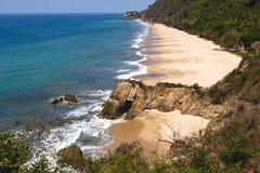 Rustig strand Royalty-vrije Stock Afbeelding