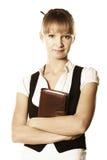 Rustige blonde onderneemster Stock Foto's