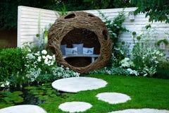 Rustige Tuin Royalty-vrije Stock Afbeeldingen