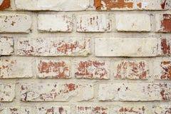 Rustikale alte Backsteinmauer-Beschaffenheit Stockbilder