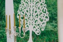 Rustikale Hochzeitsfotozone Handgemachte Hochzeitsdekorationen schließt ein stockbild