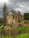 Rustikale Kirche Stockfoto