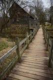 Rustikale Mühle und Scheune im North Carolina Lizenzfreies Stockfoto