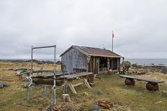 Rustikale Nachtlagerhütte Lizenzfreie Stockbilder