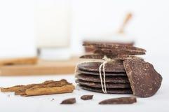Rustikale Schokolade Lizenzfreie Stockfotos