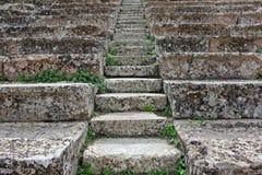 Rustikale Schritte Stockfotografie