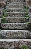 Rustikale Schritte Lizenzfreie Stockbilder