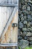 Rustikale Stall-Tür Stockbild