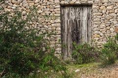 Rustikale Tür Lizenzfreies Stockfoto