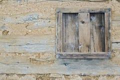 Rustikale Wand Stockfoto