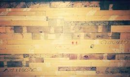 Rustikale Wand Stockbild