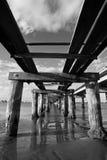 Rustikaler alter Pier Lizenzfreies Stockbild