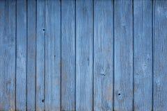 Rustikaler blauer Bauholzhintergrund Lizenzfreie Stockbilder
