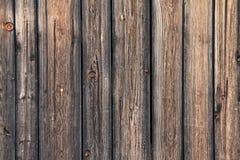 Rustikaler Bretterzaun Stockfotografie