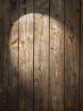 Rustikaler hölzerner Hintergrund-Scheinwerfer Lizenzfreies Stockfoto