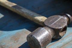 Rustikaler Hammer Stockfotos