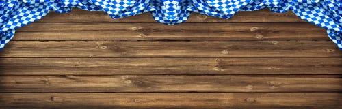 Rustikaler Hintergrund für Oktoberfest Lizenzfreies Stockbild