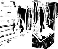 rustikaler Korridor Lizenzfreie Stockfotos