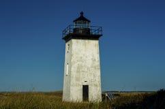 Rustikaler Leuchtturm auf dem Gebiet Lizenzfreies Stockfoto