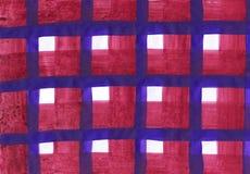 Rustikaler Schottenstoffhintergrund in einer Trachtenmode vektor abbildung