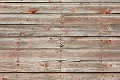 Rustikaler verwitterter hölzerner Abstellgleis-Hintergrund Lizenzfreie Stockbilder