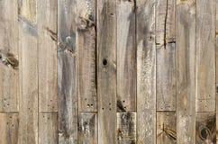 Rustikaler verwitterter Scheunenholzhintergrund Lizenzfreies Stockbild