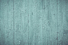 Rustikales altes hölzernes Brett-schäbiger grüner Hintergrund Lizenzfreies Stockfoto