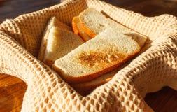 Rustikales Brot stockbild
