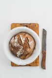 Rustikales Brot Lizenzfreies Stockbild