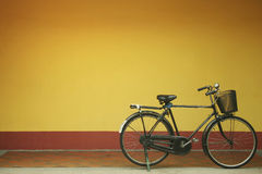 Rustikales Fahrrad Stockfotografie