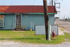Rustikales Gebäude Louisianas lizenzfreies stockbild