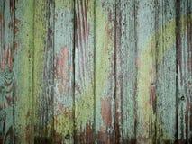 Rustikales grünes Holz Lizenzfreies Stockfoto
