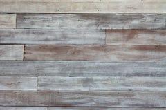 Rustikales hölzernes gemasert mit verblaßter weißer Farbe für Retro- und Weinlesehintergrundentwurf lizenzfreie stockbilder