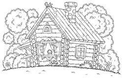 Rustikales Haus Lizenzfreie Stockfotos