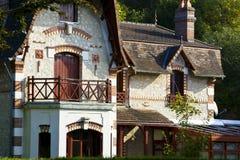 Rustikales Haus stockbilder
