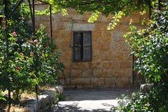 Rustikales Haus im Libanon Stockbild